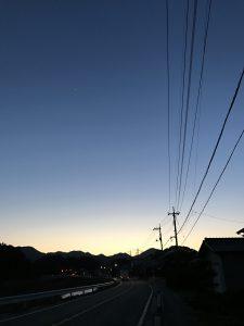 岩美町夕焼け