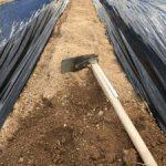 ファームスプリングボード通路づくり鍬1