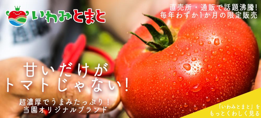 超濃厚トマト「いわみとまと」を通販でお届けします。